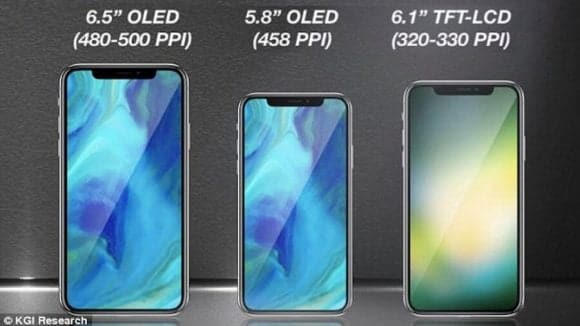 UPCOMING 3 NEW IPHONES LEAKED IN 2018